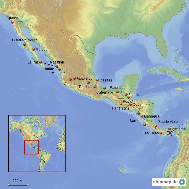 Herr Lehmann goes around the world - Central Amerika