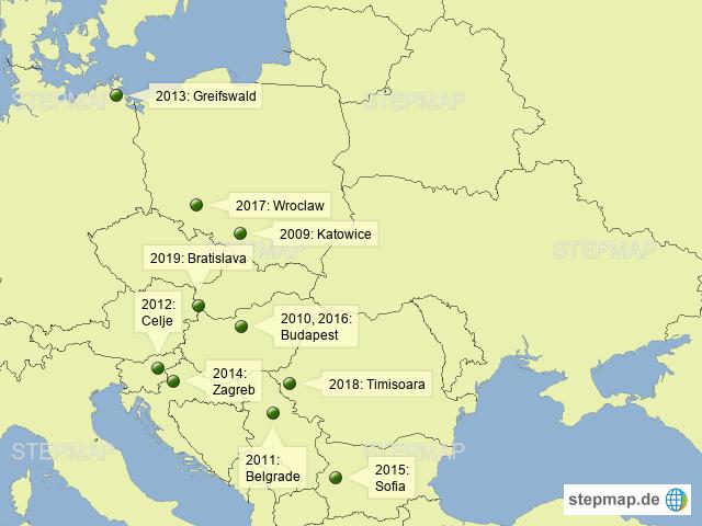 CEE Forum Conferences since 2009