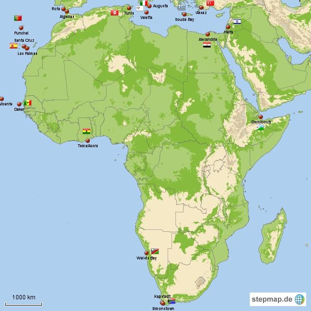 Meine Häfen Afrika