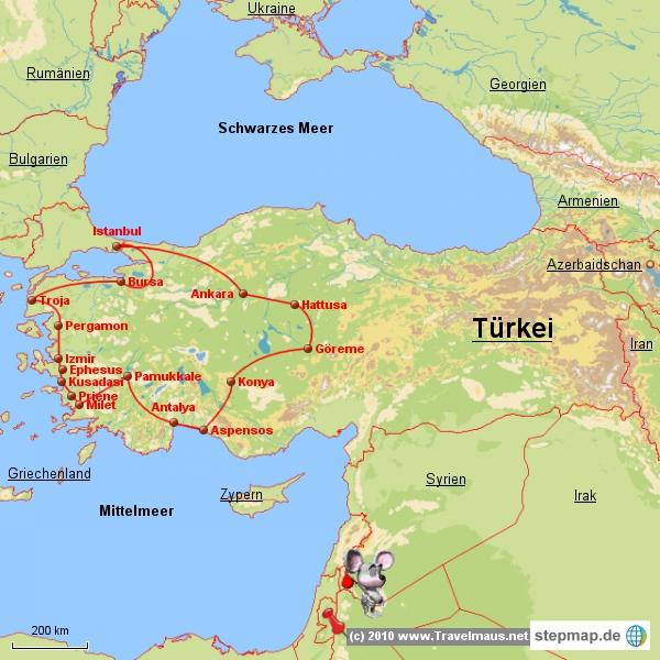 Türkeirundreise 1981