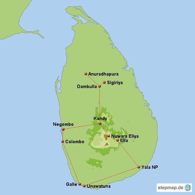 Sri Lanka, 28.10.-11.11.2012