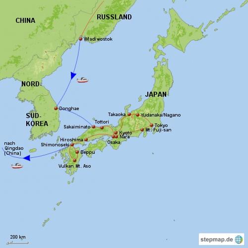 Japan-Reise 2010