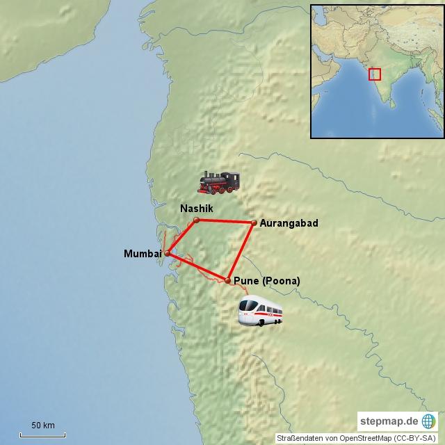 Indien-Reise durch Maharashtra