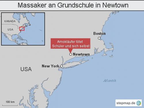 Massaker an Grundschule in Newtown