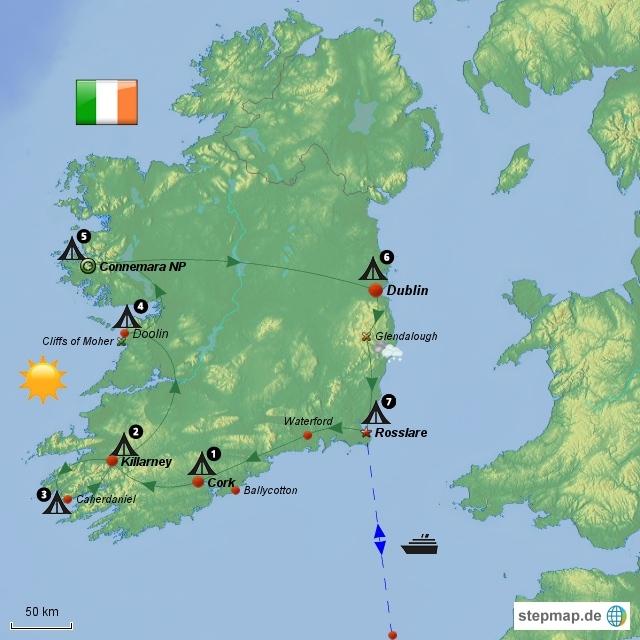 Irlandstreifzug 2010