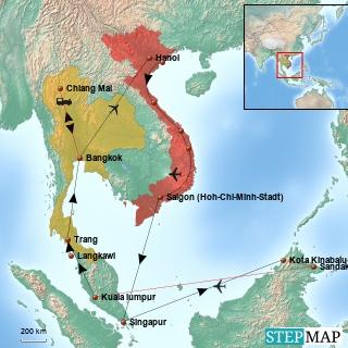Asienrundreise 2013