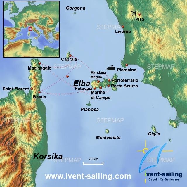 Segeltörn Elba