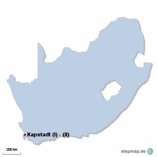 Südafrika Karte DIREKT Sprachreisen