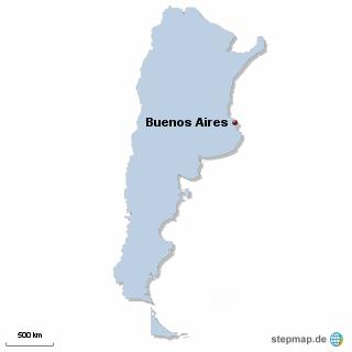 Argentinien Karte DIREKT Sprachreisen