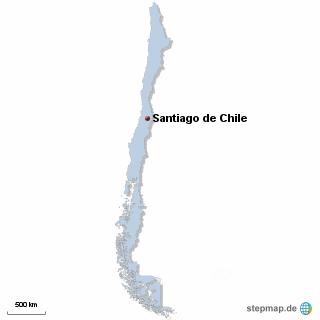 Chile Karte DIREKT Sprachreisen