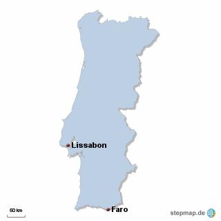 Portugal Karte DIREKT Sprachreisen