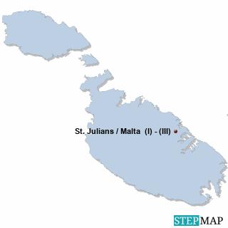 Malta Karte DIREKT Sprachreisen - Schüler
