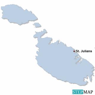Malta Karte DIREKT Sprachreisen - Familien
