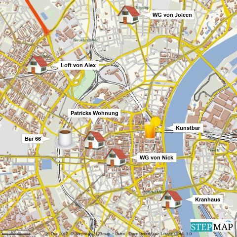 """Die Locations von """"Köln 50667"""""""