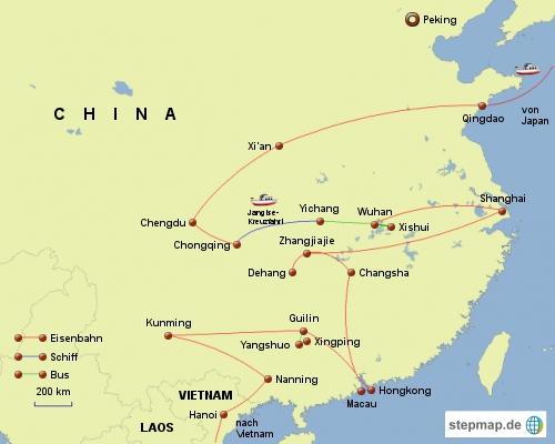 China-Reise 2010