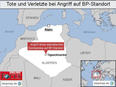 Tote und Verletzte bei Angriff auf BP-Standort