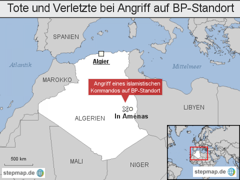 Korrektur: Tote und Verletzte bei Angriff auf BP-Standort