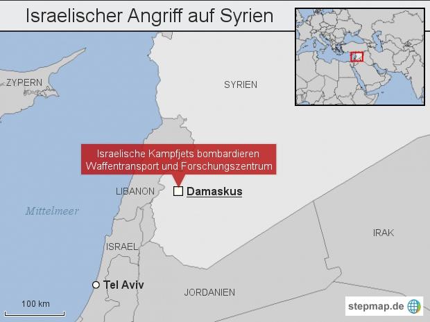 Israelischer Angriff auf Syrien