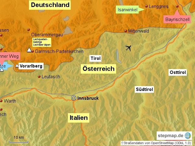 Alpenraum Westteil