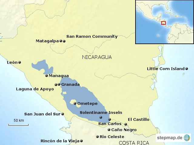 Nicaragua Bausteinübersicht