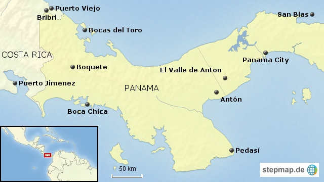 Panama Bausteinübersicht