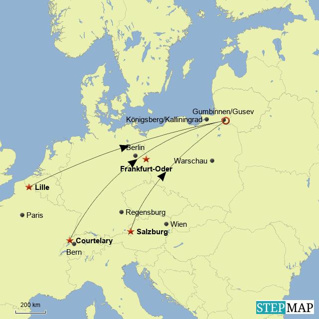 Emigration nach Ostpreußen zu Beginn des 18.Jrh.