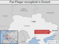 Ukraine: Fan-Flieger verungl�ckt in Donezk