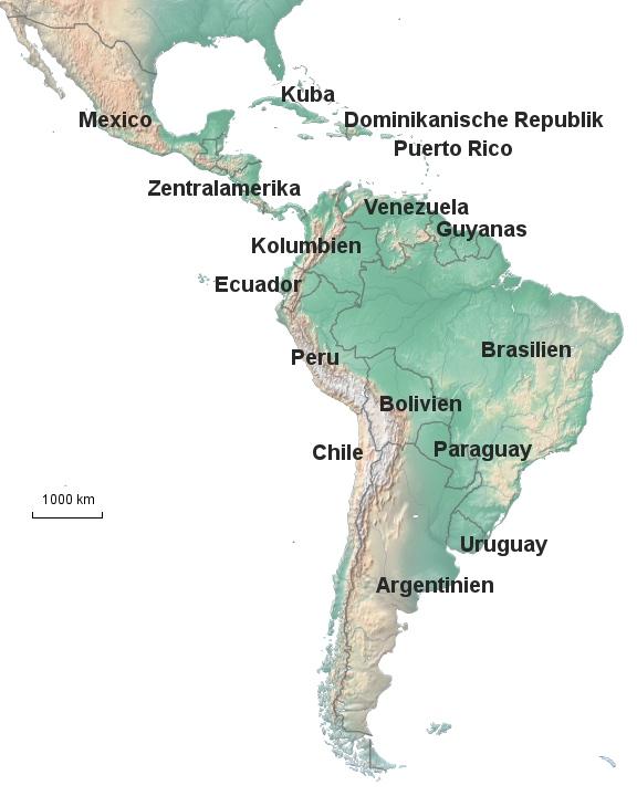 Das ist Lateinamerika