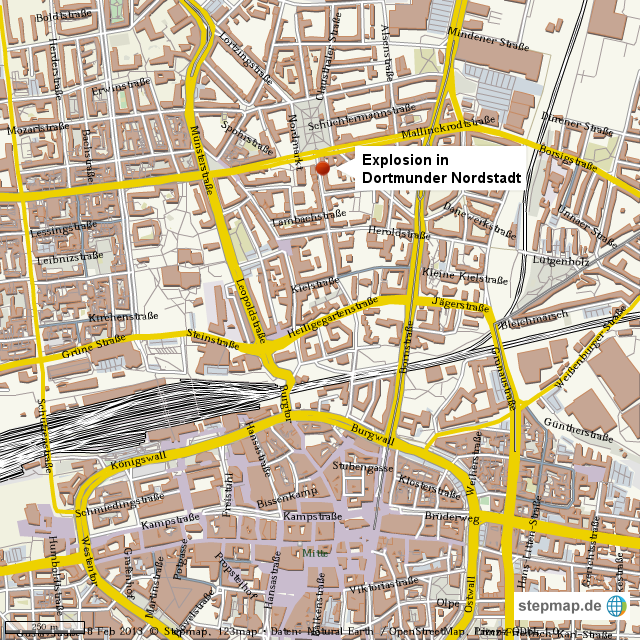 Explosion Dortmund Nordstadt