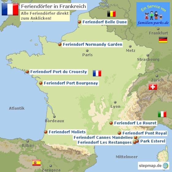 Pierre et Vacances Feriendorf Frankreich