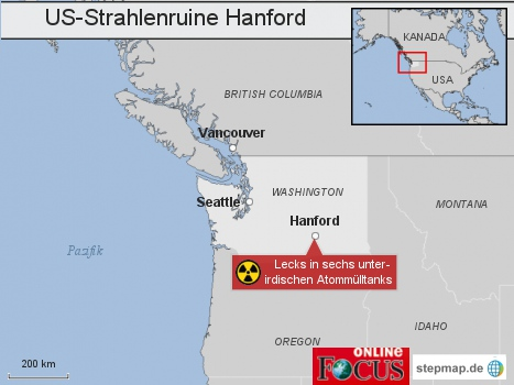 US-Strahlenruine Hanford