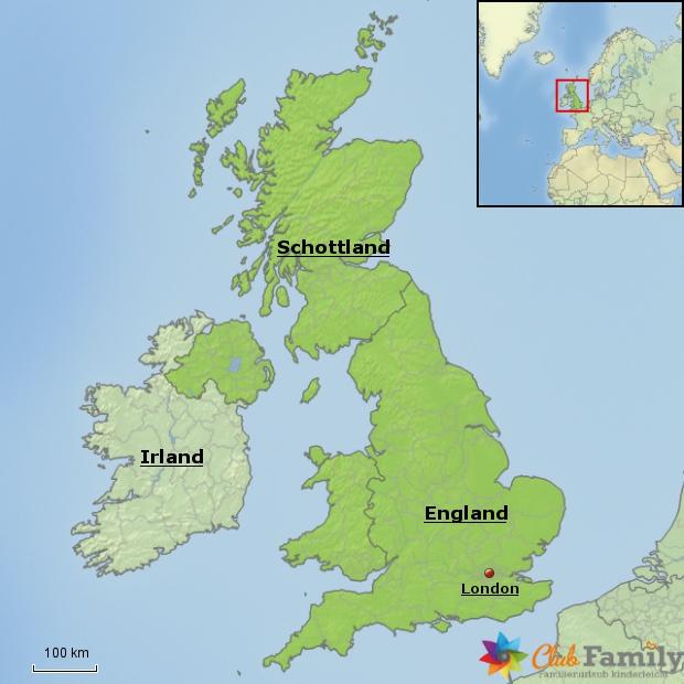 Weitere beliebte Urlaubsregionen in Großbritannien
