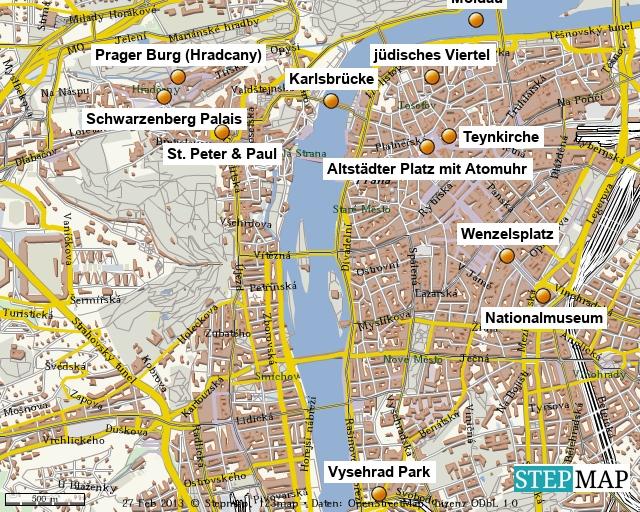 St�dtereise Prag 2012