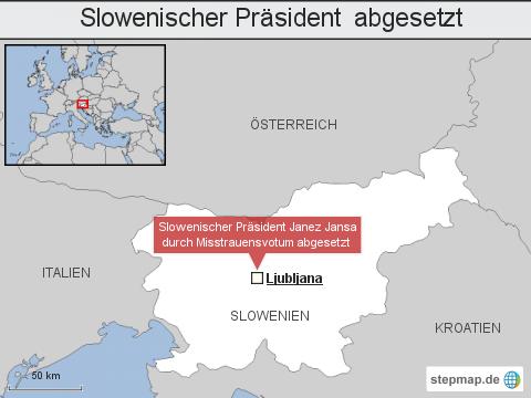 Slowenischer Präsident abgesetzt