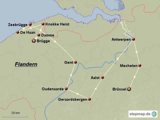 Radtour Flandern
