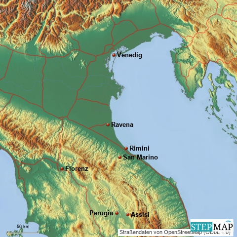 Rimini –Perle an der Adria.