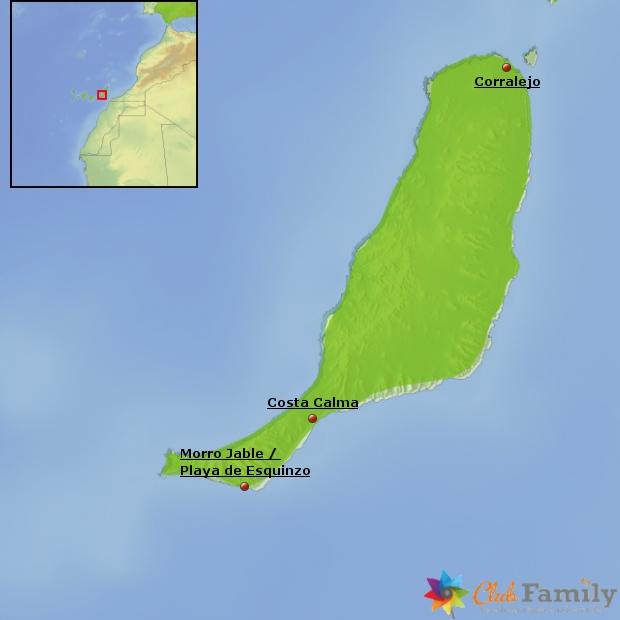 Weitere beliebte Urlaubsorte auf Fuerteventura