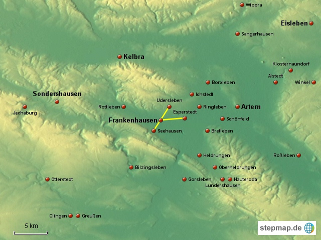 Frankenhausen - Umfeld