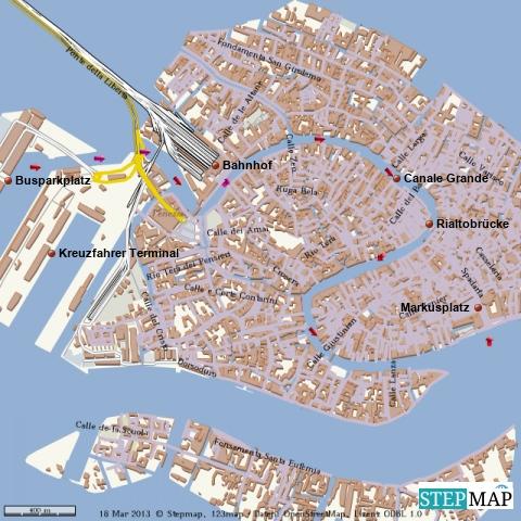 Venedig u. Canale Grande