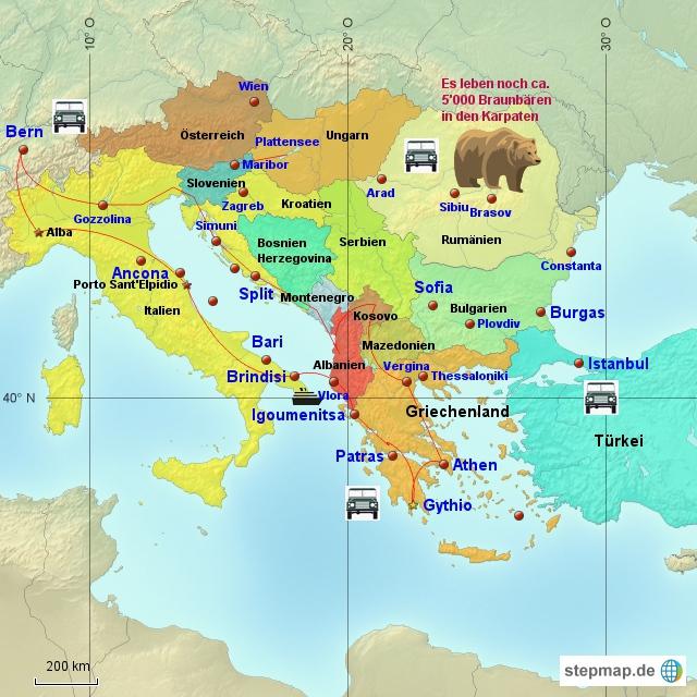 Balkanreise 2013