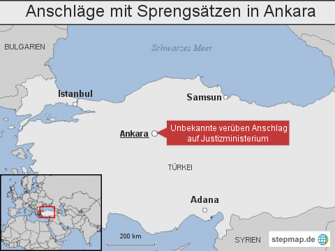 Türkei: Anschläge mit Sprengsätzen in Ankara