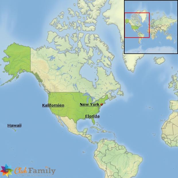 Weitere beliebte Urlaubsregionen in den USA