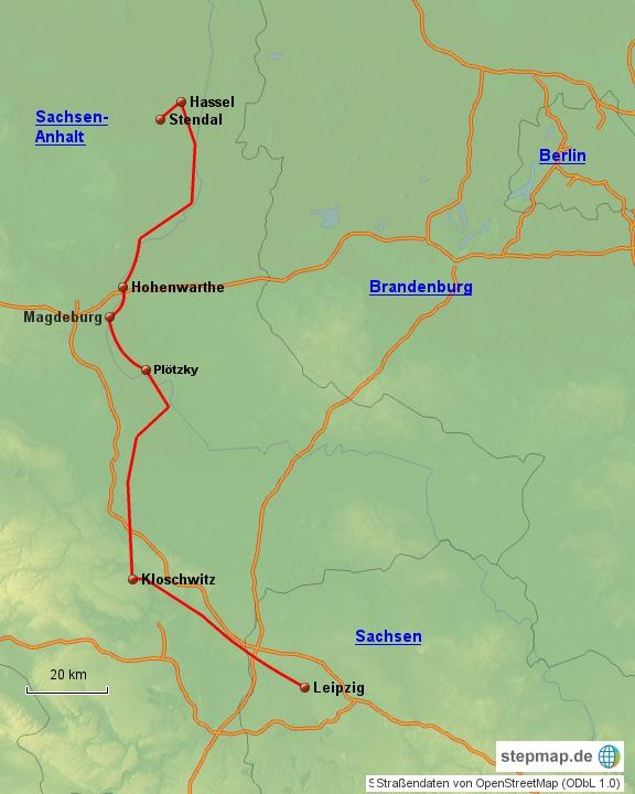 Leipzig - Stendal