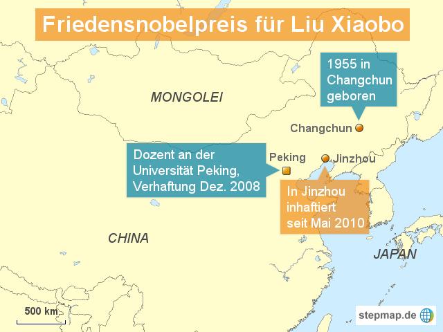 Friedensnobelpreis für Liu Xiaobo