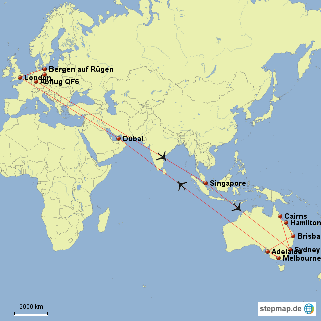 Trip Australien
