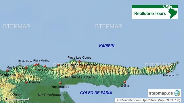 Halbinsel Paria