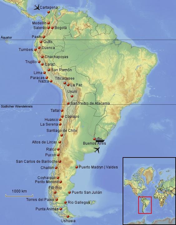 Herr Lehmann goes around the world - South Amerika