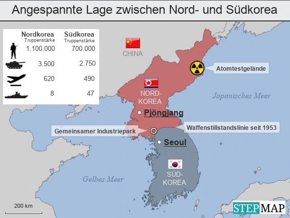 Nordkorea: Atomkriegs-Drohung: Wie gefährlich ist Kim Jong ...