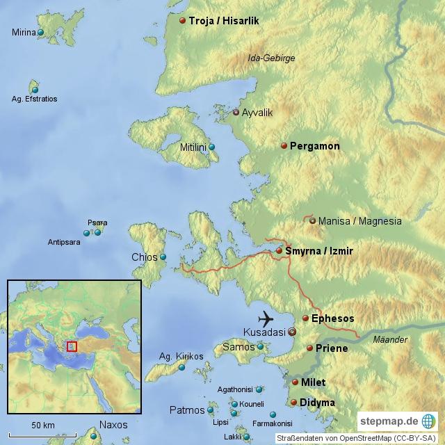 Ionische Küste