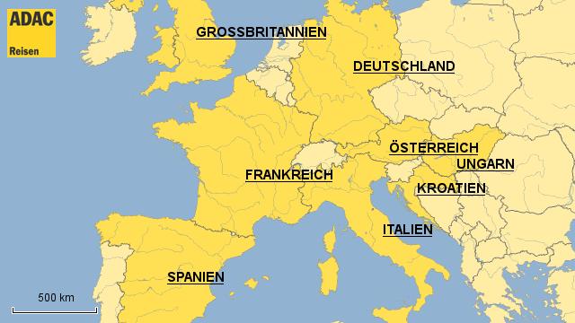 ADAC Reisen Camping Europa